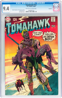 Tomahawk #121 Savannah pedigree (DC, 1969) CGC NM 9.4 Off-white to white pages
