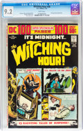Bronze Age (1970-1979):Horror, The Witching Hour #38 (DC, 1974) CGC NM- 9.2 White pages....
