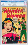 Silver Age (1956-1969):Superhero, Wonder Woman #82 (DC, 1956) CGC FN+ 6.5 Cream to off-whitepages....