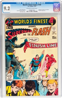World's Finest Comics #199 (DC, 1970) CGC NM- 9.2 Off-white to white pages