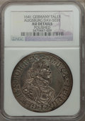 German States:Augsburg, German States: Augsburg. Free City  City View Taler 1641 AUDetails (Polished) NGC,...