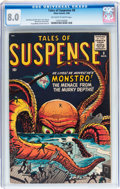 Silver Age (1956-1969):Mystery, Tales of Suspense #8 (Marvel, 1960) CGC VF 8.0 Off-white to whitepages....
