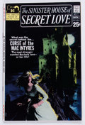 Bronze Age (1970-1979):Romance, Sinister House of Secret Love #1 (DC, 1971) Condition: VF....