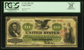 Large Size:Legal Tender Notes, Fr. 93c $10 1862 Legal Tender PCGS Apparent Very Fine 25.. ...