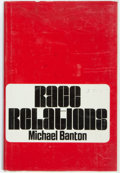 Books:Americana & American History, [African-Americana]. Michael Banton. Race Relations. NewYork: Basic Books Inc., 1967. 8vo, 434 pages. Publisher...
