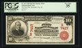 National Bank Notes:Alabama, Alexander City, AL - $10 1902 Red Seal Fr. 613 The First NB Ch. # (S)7417. ...