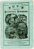 Books:Music & Sheet Music, Put's Original California Songster. San Francisco: D.E.Appleton & Co., 1868. 4th edition, 18th thousand (with laterwra...