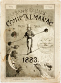 Books:Americana & American History, [Almanac]. Frank Leslie's Illustrated Comic Almanac for the Year1883. New York: Frank Leslie, Publisher's pictorial...