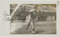 Autographs:Photos, 1911 Christy Mathewson Signed Photograph from The Frank W. Smith Collection, PSA/DNA Mint 9....