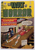 Golden Age (1938-1955):Horror, Vault of Horror #12 (EC, 1950) Condition: Incomplete....
