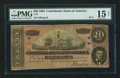 Confederate Notes:1864 Issues, T67 $20 1864 PF-2 Cr. 504A.. ...