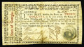 Colonial Notes:Georgia, Georgia May 4,1778 $20 Very Fine. There are a few very minorrepairs on this broadly margined, boldly signed Georgia note. T...