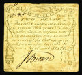 Colonial Notes:Massachusetts, Massachusetts October 16, 1778 2d Very Fine-Extremely Fine. A verynice example of a Codfish note. The face plate was engra...