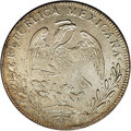 Mexico, Mexico: Republic Cap and Rays 8 Reales 1845 GC-MP,...