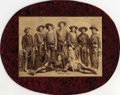 """Photography:Official Photos, A Photograph of Buffalo Bill's Wild West Cast - Including Bill's Unofficial Foster Son Johnny Baker. This 8"""" x 6"""" photogra..."""