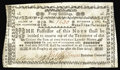 Colonial Notes:New Hampshire, New Hampshire November 3, 1775 40s Extremely Fine. Listed as a Contemporary Counterfeit in Newman, but properly signed and p...