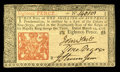 Colonial Notes:New Jersey, New Jersey March 25, 1776 18d Choice New. This is a delightful notethat has escaped circulation....