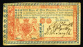 Colonial Notes:New Jersey, New Jersey March 25, 1776 L6 Choice About New. Several of thecorners are lightly bumped on this otherwise impeccable tricol...