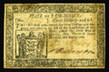 Colonial Notes:New Jersey, New Jersey January 9, 1781 3s6d Extremely Fine. A decently marginedexample from this much scarcer late-date issue....