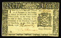 Colonial Notes:New York, New York March 5, 1776 $1 Choice New. This is really a veryattractive example of a New York note that should see some consi...