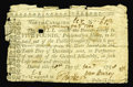 Colonial Notes:North Carolina, North Carolina 1756 - 1757 (written dates) L5 Good-Very Good.Another example of this scarce issue dated Jan. 28, 1758 that ...