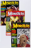 Magazines:Horror, Famous Monsters of Filmland #48-50 and 52 Group (Warren, 1967-68) Condition: Average NM-.... (Total: 4 Items)
