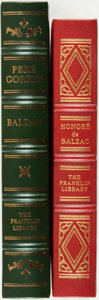 Books:Literature Pre-1900, Honore de Balzac. Pair of Franklin Library Titles. Franklin Center:Franklin Library, various dates. Includes one first edit... (Total:2 Items)