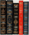 Books:Fine Bindings & Library Sets, [John Stuart Mill, Thomas Paine, Thomas Jefferson, et al]. Group of Five Franklin Library Editions. Various dates. Publisher... (Total: 5 Items)