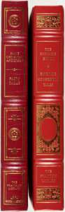 Books:Fine Bindings & Library Sets, [Hans Christian Andersen, The Brothers Grimm]. Pair of Franklin Library Editions. Various dates. Publisher's full leather wi... (Total: 2 Items)