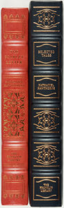 Books:Fine Bindings & Library Sets, [Nathaniel Hawthorne]. Pair of Franklin Library Editions. Various dates. Publisher's full leather with gilt titles and decor... (Total: 2 Items)