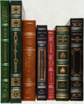 Books:Fine Bindings & Library Sets, [Greek History and Literature]. Group of Seven Franklin Library Editions. Various dates. Publisher's full leather with gilt ... (Total: 7 Items)