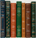 Books:Fine Bindings & Library Sets, [Emily Dickinson, Ezra Pound, Henry Wadsworth Longfellow]. Group of Seven Franklin Library Editions. Various dates. Publishe... (Total: 7 Items)