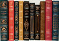 Books:Fine Bindings & Library Sets, [E. E. Cummings, W. H. Auden, Walt Whitman, et al]. Group of TenFranklin Library Editions. Various dates. Publisher's full ...(Total: 10 Items)