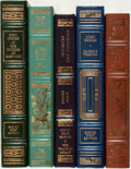 Books:Fine Bindings & Library Sets, John Updike. SIGNED. Group of Five First Editions. Franklin Center: Franklin Library, [various dates]. All are signed by t... (Total: 5 Items)