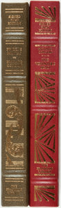 Books:Fine Bindings & Library Sets, Richard Condon. SIGNED. Pair of First Editions. Franklin Center: Franklin Library, [various dates]. Both are signed by the... (Total: 2 Items)
