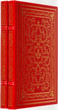 Books:Fine Bindings & Library Sets, Louis Auchincloss. SIGNED. Exit Lady Masham. Franklin Center: Franklin Liubrary, 1983. Two copies. Signed by the a... (Total: 2 Items)