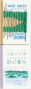 Books:Fiction, Group of Two Edward Dorn Books (Both SIGNED) including: By the Sound. Santa Rosa: Black Sparrow Press, 1991. Signed ... (Total: 2 Items)