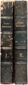 Books:Biography & Memoir, [Lady Mary Wortley Montagu]. The Works of the Right HonourableLady Mary Wortley Montagu, Including her Correspondence, ...(Total: 2 Items)