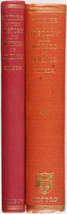 Books:Science & Technology, Charles Singer, editor. Studies in the History and Method of Science. London: William Dawson & Sons, 1955. Second ed... (Total: 2 Items)