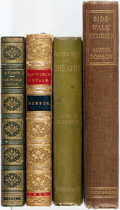 Books:Literature 1900-up, Austin Dobson. Group of Four Books. Various publishers and dates.Titles include: Side-Walk Studies [and:] ... (Total: 4Items)