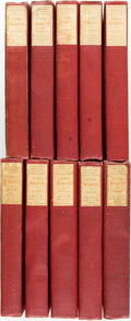 Books:Art & Architecture, [William Hogarth]. The Works of William Hogarth. Including the Analysis of Beauty and Five Days' Peregrination, Vols. I-... (Total: 10 Items)