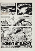 "Original Comic Art:Complete Story, Frank Bolle Boris Karloff Tales of Mystery #59 Complete6-Page Story ""Incident At Elmont"" Original Art (Gold Key, ...(Total: 6 Original Art)"