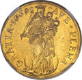 German States, German States: Hamburg. Free City gold 2 Ducat 1669-MF MS61 NGC,...