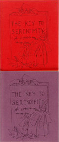[Books About Books]. Ian Jackson and Arnold Aldus Jackson. INSCRIBED. The Key to Serendipity, <