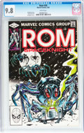 Modern Age (1980-Present):Superhero, Rom #6, 30, and 31 CGC-Graded Group (Marvel, 1980-82).... (Total: 3Comic Books)