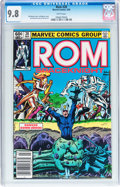 Modern Age (1980-Present):Science Fiction, Rom #28 (Marvel, 1982) CGC NM/MT 9.8 White pages....