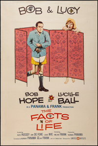 """The Facts of Life & Other Lot (United Artists, 1961). Posters (2) (40"""" X 60"""") Style Y. Comedy. ... (To..."""