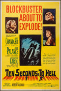 """Movie Posters:War, Ten Seconds to Hell & Other Lot (United Artists, 1959). Posters(2) (40"""" X 60"""") Style Z. War.. ... (Total: 2 Items)"""