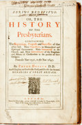 Books:Religion & Theology, Heylyn, Peter. Aerius Redivivius: or, the History of the Presbyterians. The Beginnings, Progress and Successes of that A...