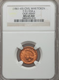 Civil War Patriotics, Undated Our Army MS65 Red NGC. Fuld-51/334a....